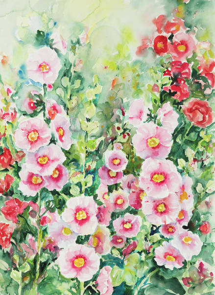 Painting - Watercolor Series 118 by Ingrid Dohm