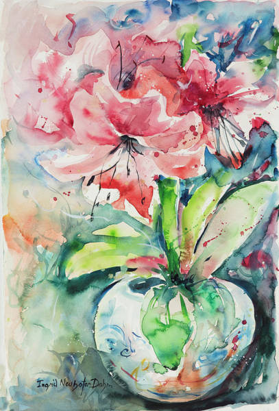 Painting - Watercolor Series 139 by Ingrid Dohm