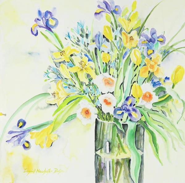 Watercolor Series 143 Art Print