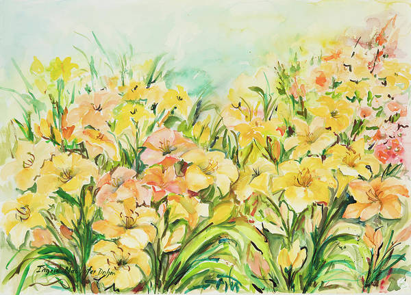 Painting - Watercolor Series 155 by Ingrid Dohm
