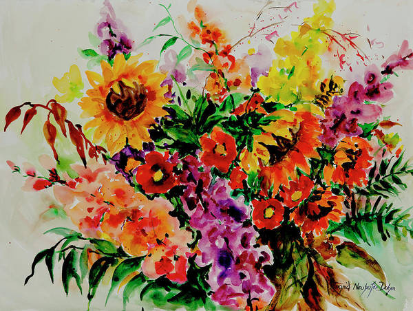 Painting - Watercolor Series 176 by Ingrid Dohm