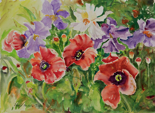 Painting - Watercolor Series 177 by Ingrid Dohm