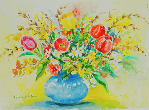 Painting - Watercolor Series 179 by Ingrid Dohm