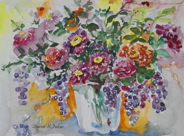 Painting - Watercolor Series 206 by Ingrid Dohm