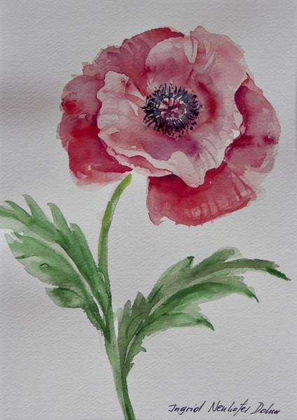 Painting - Watercolor Series 211 by Ingrid Dohm