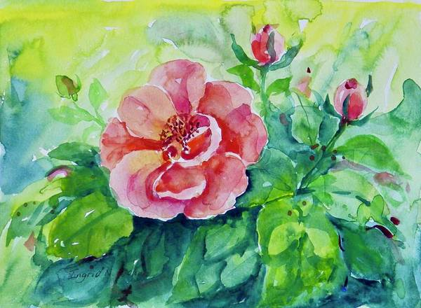 Painting - Watercolor Series 230 by Ingrid Dohm