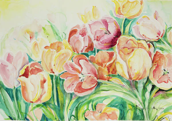 Painting - Watercolor Series 25 by Ingrid Dohm