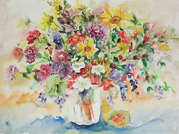 Watercolor Series 33 Art Print