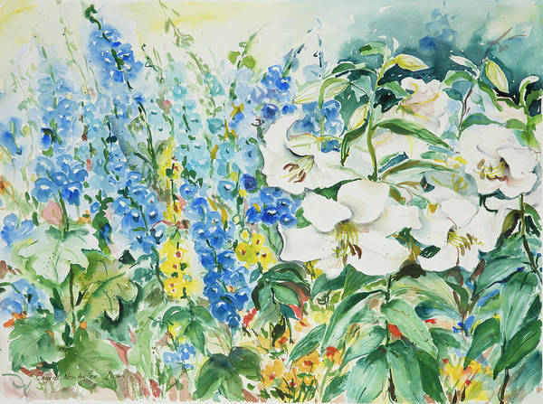 Painting - Watercolor Series 49 by Ingrid Dohm