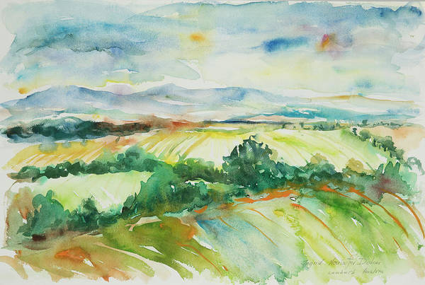 Painting - Watercolor Series 56 by Ingrid Dohm