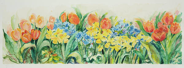Painting - Watercolor Series 57 by Ingrid Dohm