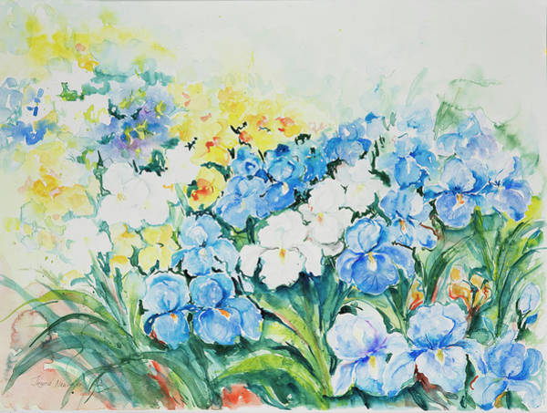 Painting - Watercolor Series 74 by Ingrid Dohm