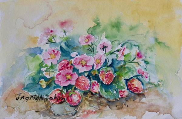 Painting -  Watercolor Series No. 223  by Ingrid Dohm