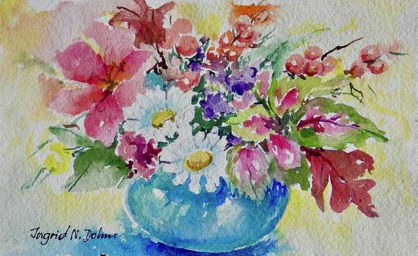 Painting - Watercolor Series No. 227 by Ingrid Dohm