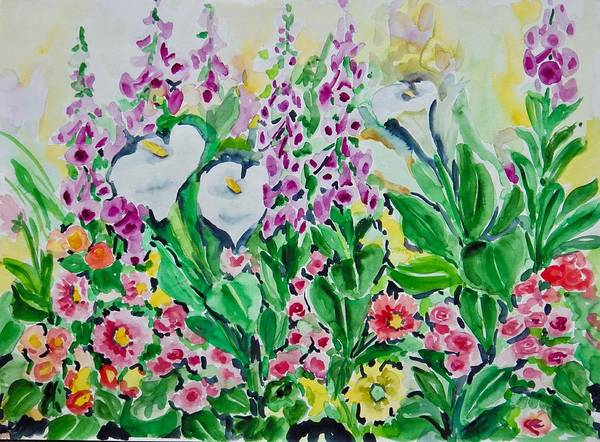 Painting - Watercolor Series No. 251 by Ingrid Dohm