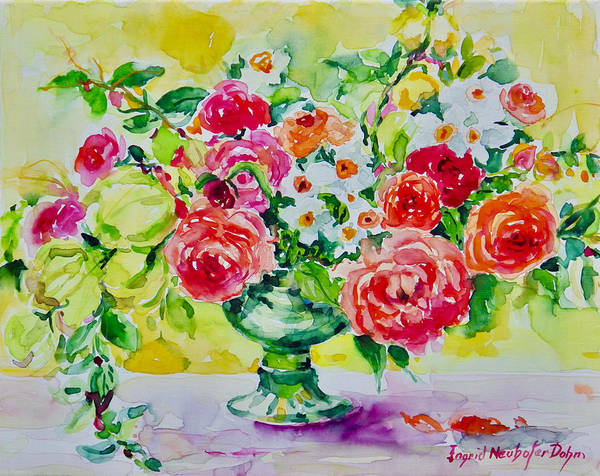 Painting - Watercolor Series No. 276 by Ingrid Dohm