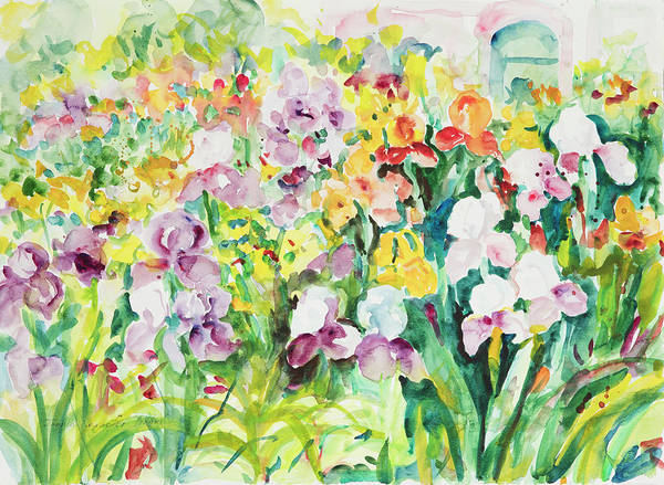 Painting - Watercolor Series159 by Ingrid Dohm