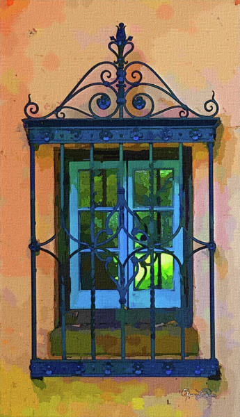 Photograph - Watercolor Window 2 by Susan Molnar