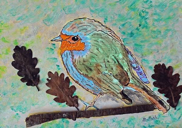 Painting - Watercolour Robin by Joy of Life Art Gallery