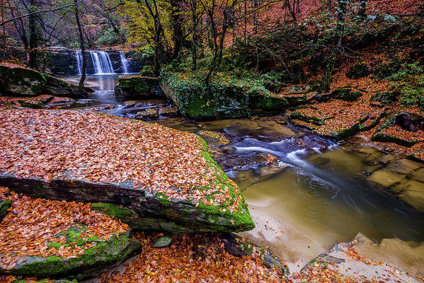 Photograph - Waterfall-3 by Okan YILMAZ