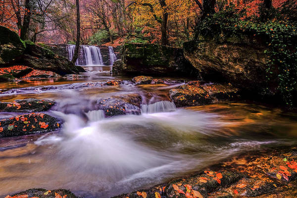 Photograph - Waterfall-9 by Okan YILMAZ