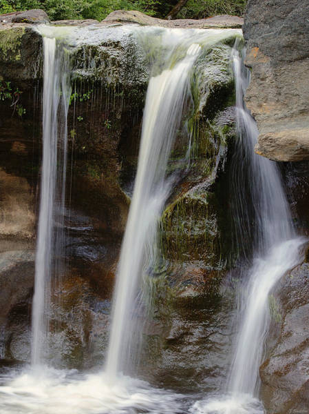 Photograph - Waterfall Art - Balance Peace And Joy by Jordan Blackstone