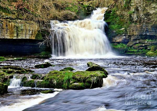 Photograph - Waterfall At West Burton, Yorkshire Dales by Martyn Arnold