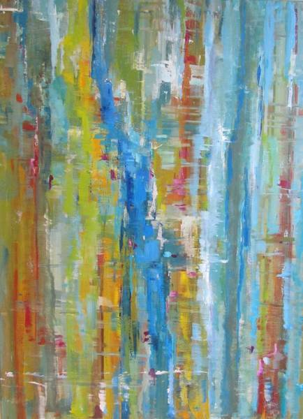 Wall Art - Painting - Waterfall by Cherry Brewer