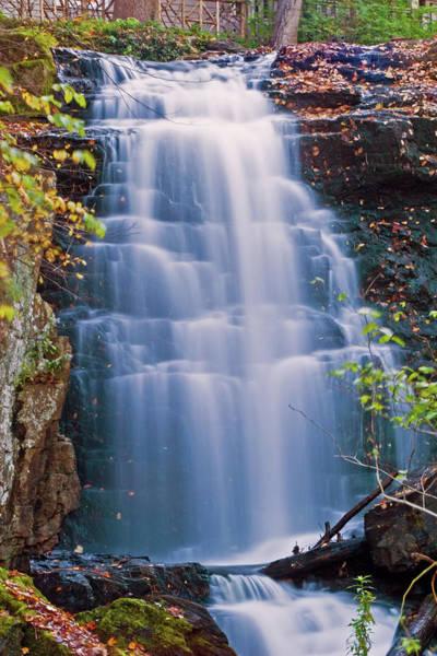 New Preston Ct Photograph - Waterfall by David Freuthal