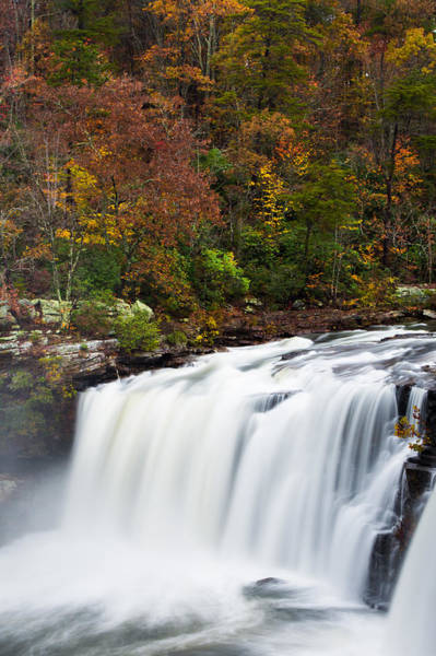 Photograph - Waterfall Dreams In Autumn by Parker Cunningham
