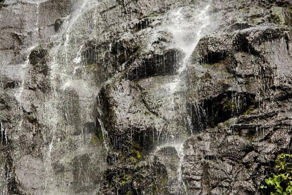 Fatu Hiva Wall Art - Photograph - Waterfall, Fatu Hiva Island by Tim Laman