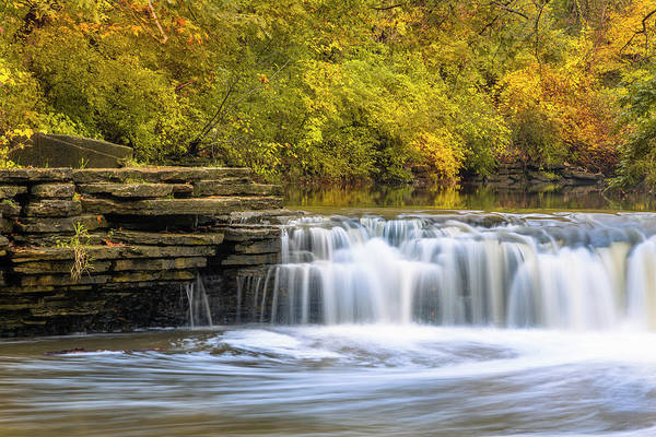 Wall Art - Photograph - Waterfall Glen, Lemont, Il by Adam Romanowicz