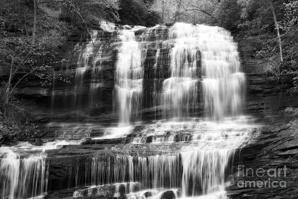 Photograph - Waterfall In Black And White by Jill Lang