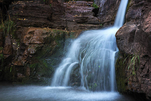 Photograph - Waterfall In Horton Creek by Dave Dilli