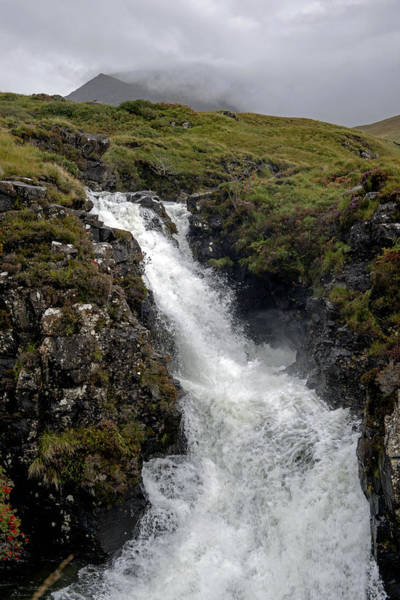 Photograph - Waterfall In Isle Of Skye by Dubi Roman