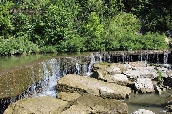 Wall Art - Photograph - Waterfall Ledge by Weathered Wood