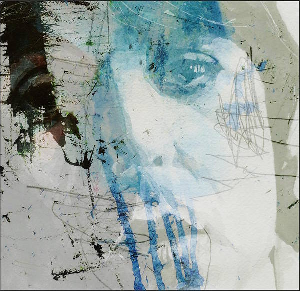 The Mixed Media - Waterfall  by Paul Lovering