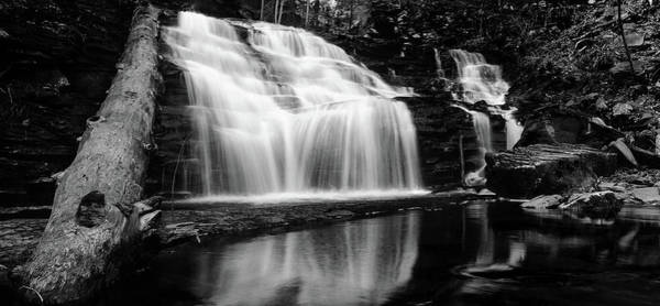 Photograph - Waterfall Reflection by Crystal Wightman
