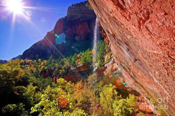 Photograph - Waterfall by Scott Kemper