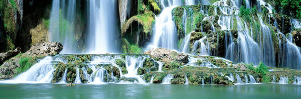 Bonneville County Photograph - Waterfall Snake River Bonneville Co Id by Panoramic Images
