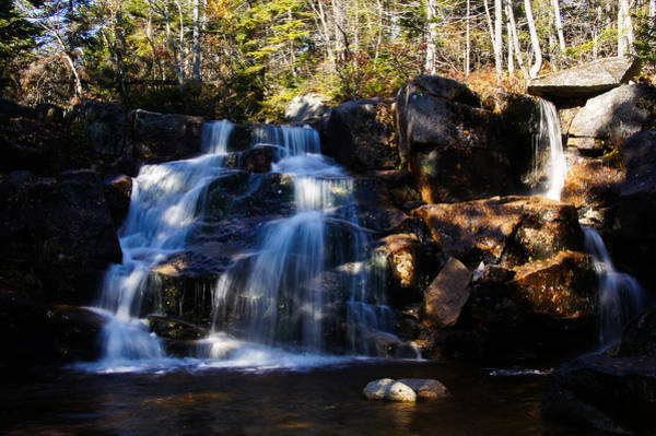 Photograph - Waterfall, Whitewall Brook by Rockybranch Dreams