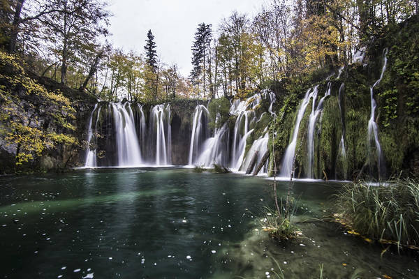 Photograph - Waterfalls In Croatia by Sven Brogren