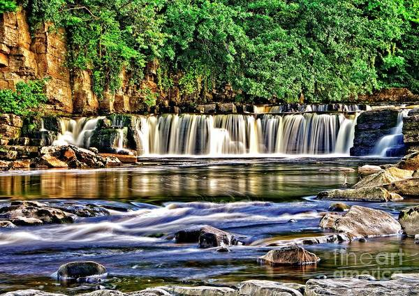 Photograph - Waterfalls - Richmond Yorkshire by Martyn Arnold