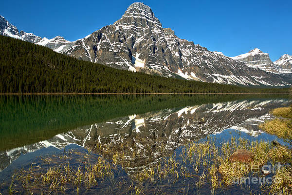 Photograph - Waterfowl Lake Reflections by Adam Jewell