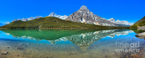 Photograph - Waterfowl Lakes Spring Panorama by Adam Jewell