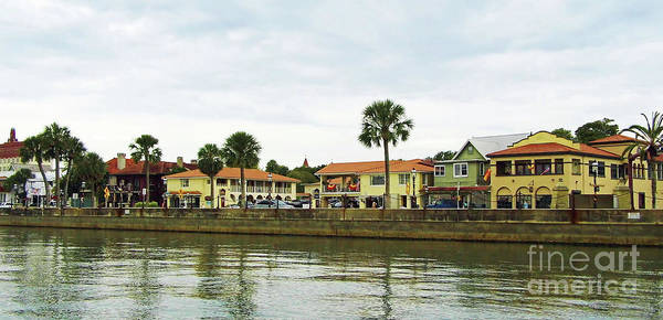 Pedro Menendez Photograph - Waterfront St Augustine by D Hackett