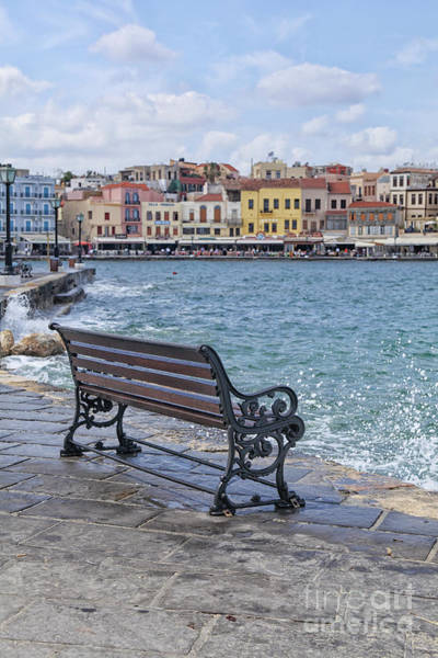 Wall Art - Photograph - Waterfront Xania In Crete by Patricia Hofmeester