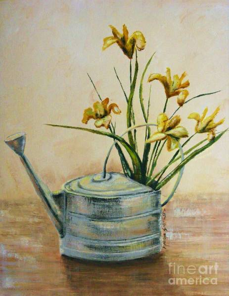 Painting - Watering Can by Marilyn Smith