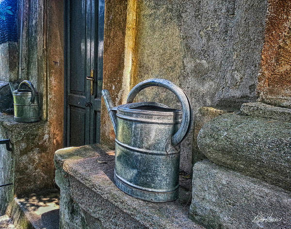 Photograph - Watering Cans by Diana Haronis