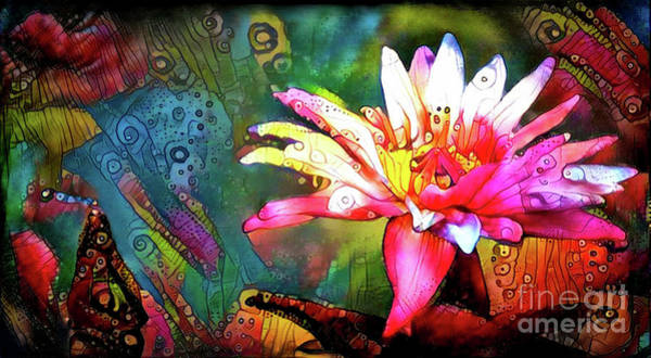 Lilly Pad Digital Art - Waterlilies 14 by Amy Cicconi